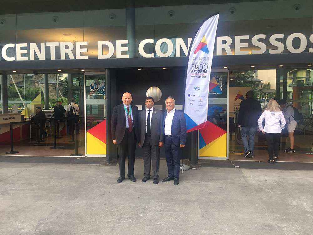 68TH WORLD CONGRESS FIABCI- ANDORRE –  23-28 Mai 2017