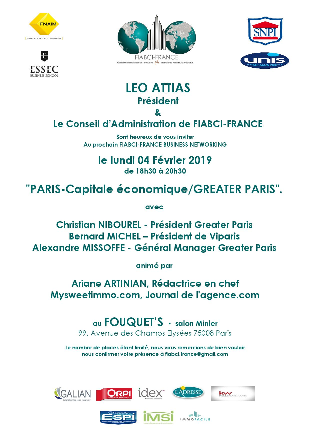 Business Networking du 04 Février 2019