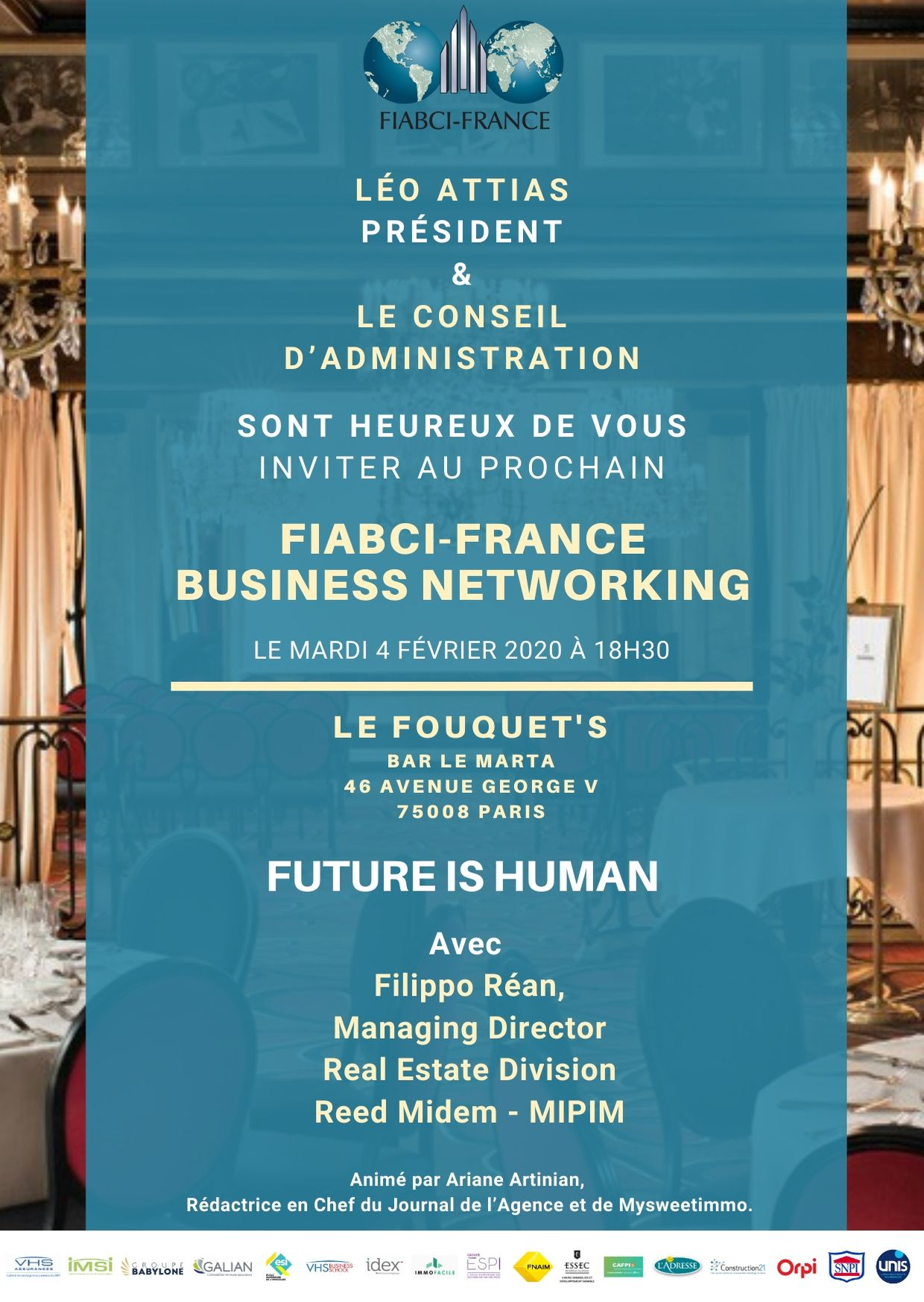 FIABCI France Business Networking du 4 février 2020