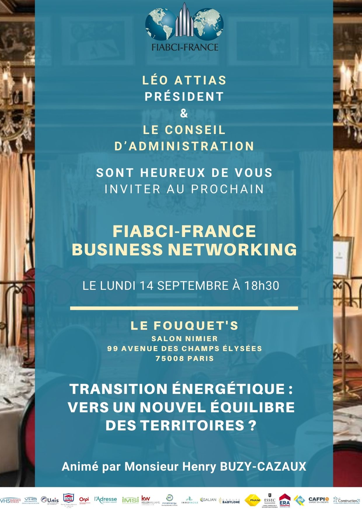 FIABCI France Business Networking du Lundi 14 Septembre 2020